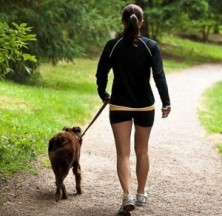Walking your dog will help you stay active and cut down on stress - two important factors for losing weight. Plus your best friend will undoubtedly lap up the extra attention!